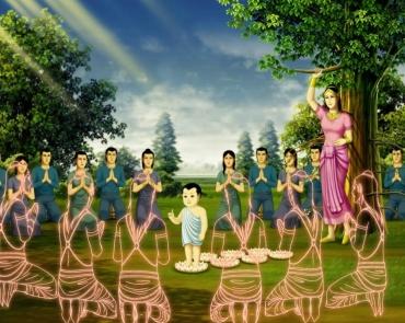Bộ Tranh Thái Lan: Lịch sử Đức Phật