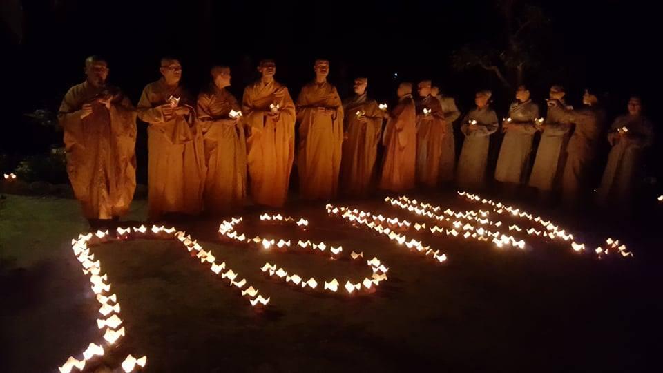Đêm Hoa Đăng - Lễ húy kỵ lần thứ 3 cố Hòa thượng Thích Như Thọ tại Tổ Đình Cổ Lâm