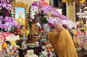 Lễ húy kỵ lần thứ 3 cố Hòa thượng Thích Như Thọ tại chùa Bửu Đà