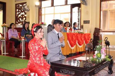 Lễ Hằng Thuận: Thanh Nhàn & Thanh Nghi ngày 07 tháng 12 năm Mậu Tuất - 2018