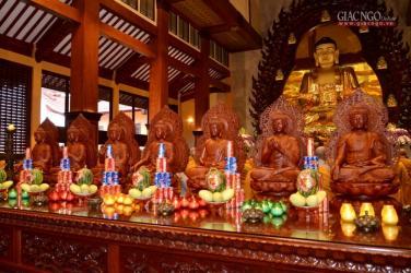 Trang nghiêm Khai đàn Pháp hội Dược Sư tại Việt Nam Quốc Tự