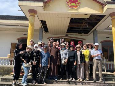 Chùa Bửu Đà & Chùa Cát Tường chia sẻ yêu thương tại Thăng Bình, tỉnh Quảng Nam