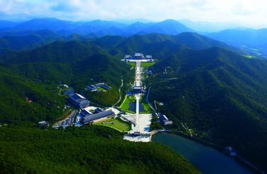 Tam Bảo Sơn Vô Lượng Thọ Tự - Vương Đường Phật Giáo lộng lẫy, vĩ đại nhất thế giới
