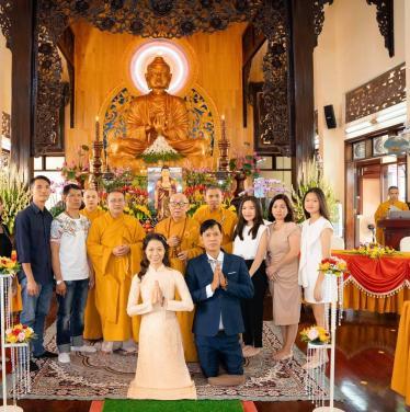Lễ hằng thuận Phật tử Đắc Tuấn - Xuân Dung