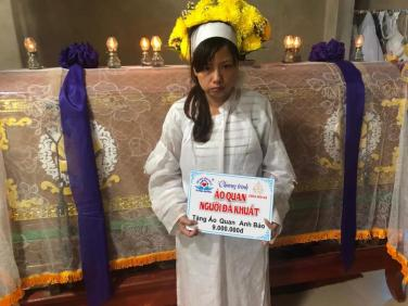 Chùa Bửu Đà: Tổng kết 'Áo Quan cho người nghèo' tháng 01-02/2020
