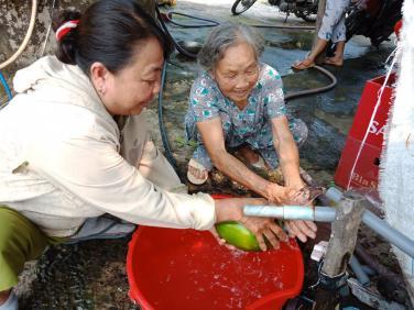 Chùa Bửu Đà: Bàn giao công trình hỗ trợ đường ống dẫn nước sạch