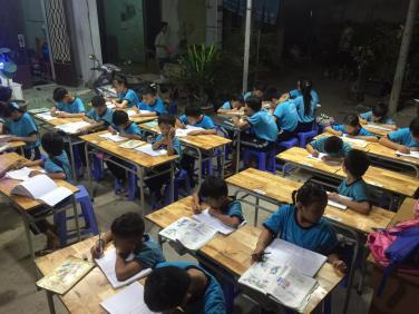 Quỹ từ thiện chùa Bửu Đà chung tay Lớp Học Tình Thương Ngọc Việt Q.12