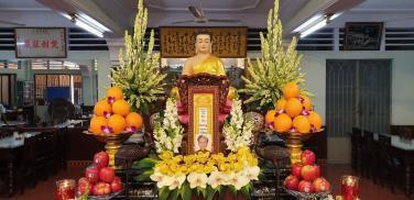 Lễ Trai tăng 'Đại Tường' Chơn linh cố Phật tử Thị Thông - Bùi Thị Hường