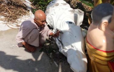 Vụ việc đập phá tượng ở chùa Hàm Chơn là do gia tộc