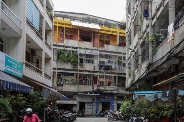 Ngôi chùa 50 năm tuổi trong chung cư