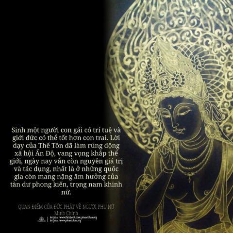 Quan điểm của đức Phật về người phụ nữ