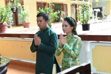 Lễ Hằng Thuận: Phật tử Gia Hậu & Khánh Trang ngày 27 tháng 11 năm Bính Thân-2016