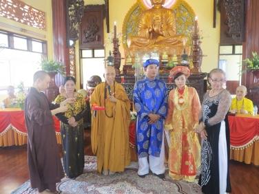 Lễ Hằng Thuận: Phật tử Thiên An & Thu Trang