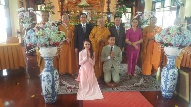 Lễ Hằng Thuận: Phật tử Hạnh Ngọc & Đức Anh ngày 02 tháng 04 năm Đinh Đậu-2017
