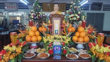 Lễ Trai Tăng Chung thất trai tuần Phật tử Đoàn Thị Đức - Pd: Diệu Tâm