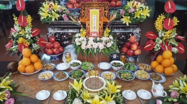 Lễ Trai Tăng Chung thất trai tuần Phật tử Phan Thị Mai pháp danh Diệu Giải