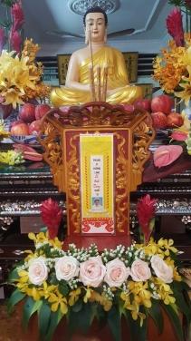 Lễ Trai Tăng Chung thất trai tuần Phật tử Lê Anh Dũng pháp danh Thiện Trí