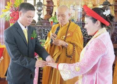Lễ Hằng Thuận: Phật tử  Văn Phúc & Thanh Tâm ngày 06 tháng 11 năm Quý Tỵ - 2013