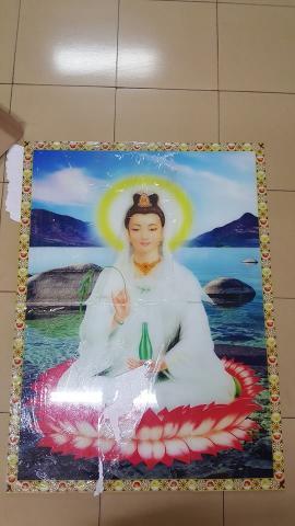 Tranh ghép hình Phật Bà Quan Âm