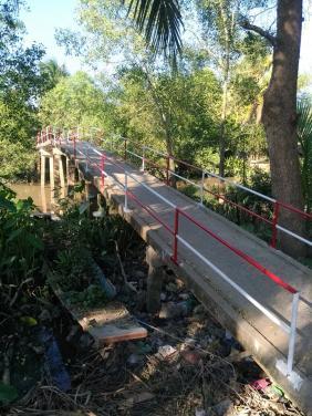 Quỹ xây cầu chùa Bửu Đà cho lan can cầu tại Vĩnh Long