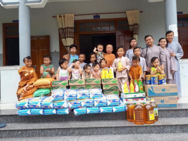 Chùa Bửu Đà: hỗ trợ Mái ấm Chùa Hải Sơn