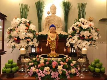Chùa Bửu Đà: Phát động cuộc thi 'thiết kế lễ đài Phật Đản tại tư gia'