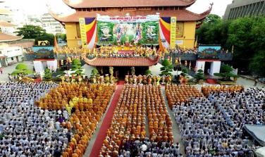 GHPGVN TP.HCM thông báo về Đại lễ Phật đản PL.2564