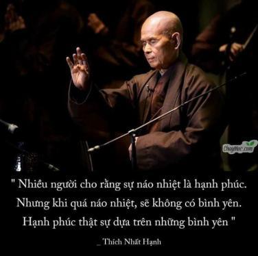 15 Thiền ngữ của Thiền sư Thích Nhất Hạnh