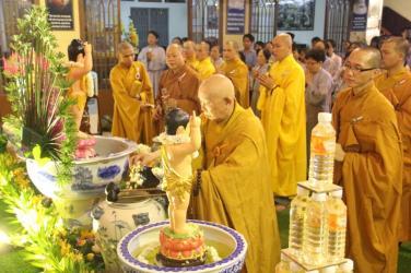 Chùa Bửu Đà: Lễ Tắm Phật mùng 08 tháng 04 năm Kỷ Hợi (2019)