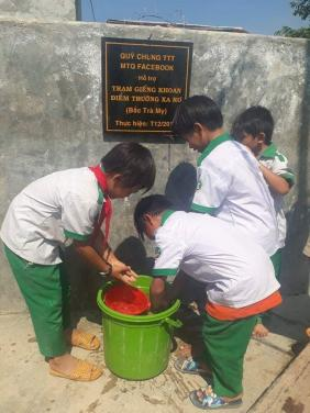 Báo cáo hoàn thành Trạm giếng tập thể điểm trường Ông Xa Rơ (Bắc Trà My, Quảng Nam)