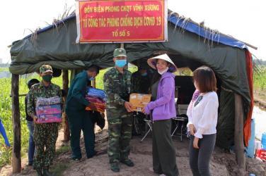Chùa Bửu Đà: chương trình 'Hỗ trợ chiến sĩ vùng biên chống dịch Covid' tại An Giang