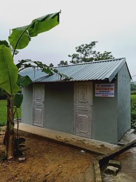 Chùa Bửu Đà: hỗ trợ xây dựng nhà vs cho điểm trường mầm non Bản Cưởm (Hà Giang)
