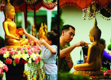 Tắm Phật cách nào đúng?
