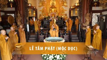 [Video] Lễ Tắm Phật mở đầu Tuần lễ Phật đản PL.2564