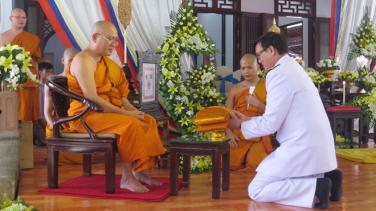 Nhà sư Việt Nam nhận tước vị cao quý của Hoàng gia Thái Lan
