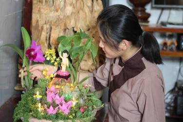 Ở nhà với Phật