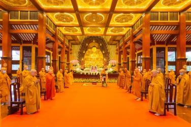 Trang nghiêm Đại lễ Phật đản Phật lịch 2565 của Phật giáo TP.HCM