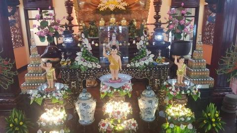 Lễ Tắm Phật ngày 08 tháng 04 năm Mậu Tuất (2018)