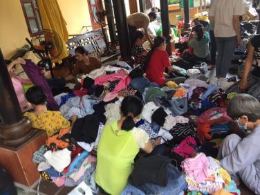 Chùa Bửu Đà: tiếp tục vận động quần áo cũ cho người nghèo!