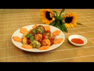 Món chay cuối tuần: Đậu hủ tam sắc sốt ớt