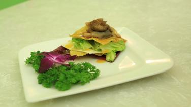Món chay cuối tuần: Salad chanh dây sốt phô mai