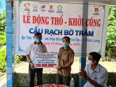 Lễ khởi công và cập nhật tiến độ xây dựng cầu Rạch Bờ Tràm (Vĩnh Long)