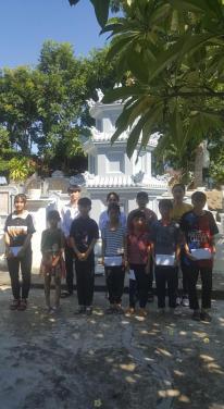 Chùa Bửu Đà: 'Học bổng Thích Như Thọ' - Kỳ cuối niên học 2019 - 2020