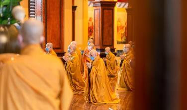 Mùa an cư của Phật giáo TP.HCM chuyển từ hậu an cư sang tâm niệm an cư