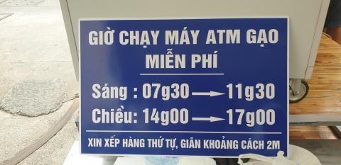 Chùa Bửu Đà: chương trình ATM gạo miễn phí