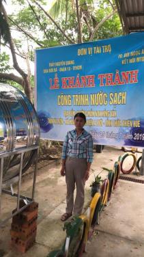 Chùa Bửu Đà: Lễ bàn giao chương trình nước sạch Trường Mầm non Hồng Vân