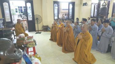 Chùa Bửu Đà cúng dường Trường hạ các tỉnh miền Tây mùa An cư 2019