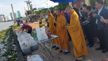 Chùa Bửu Đà: Định kỳ phóng sanh tháng 06 năm Kỷ Hợi