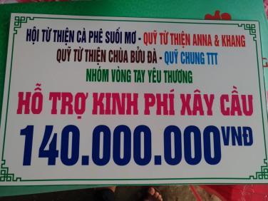 Chùa Bửu Đà: Lễ khởi công cầu Rạch Rít tại Vĩnh Long