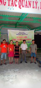 Chùa Bửu Đà: Lễ khởi công khoan giếng trường mầm non Hương Vân (Huế)